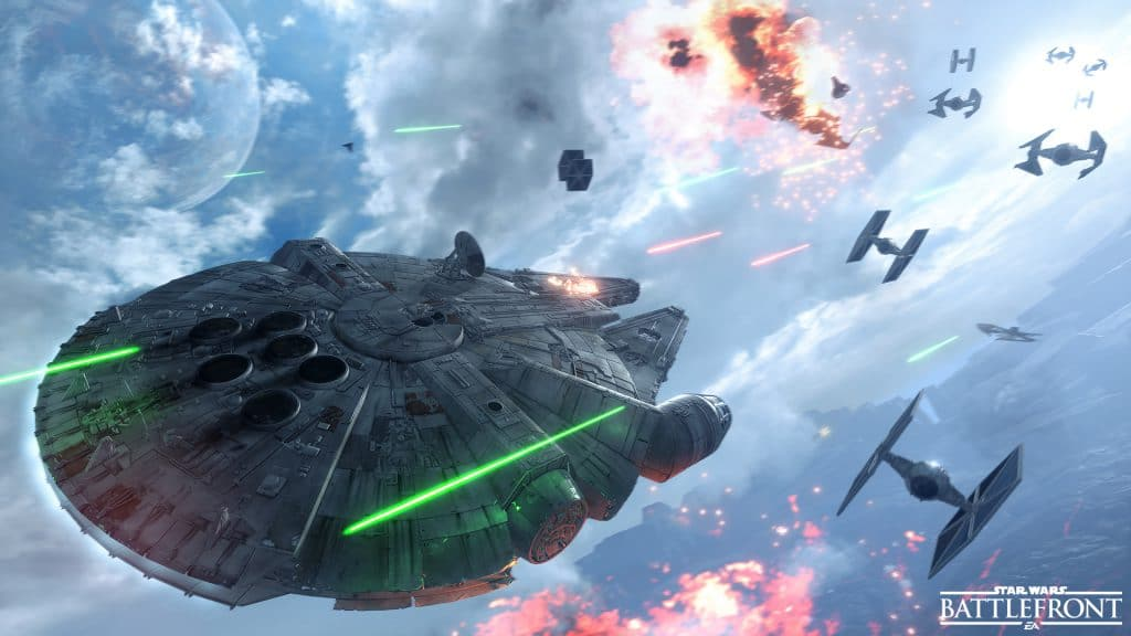 Star Wars Battlefront - Fighter Squadron - Millennium Falcon