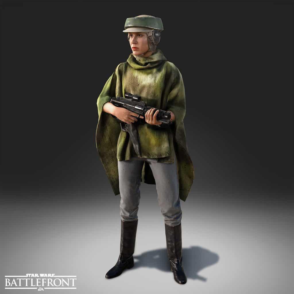 Prinzessin Leia Kostüm - Endor Look